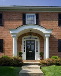 Colonial Front Porch Designs Southern Front Door Image Collections French Door Garage Door
