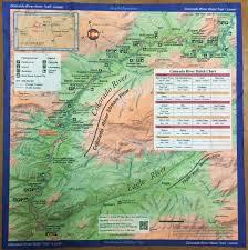 Blm Colorado Map by Colorado River Handy Micro Fiber Cloth