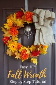 easy diy fall wreath live well play together