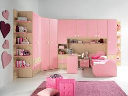 Bookshelves On The Wall Light Pink Bedroom Bookcase On The Wall Ideas Pink Wooden Painted