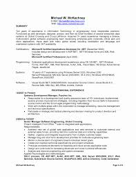 Sap Abap Sample Resume by Fresh Sap Programmer Sample Resume Resume Sample