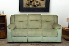 Buy Sofa Fabric Online India Buy Metro 3 Seater Green Fabric Recliner Sofa Online In India