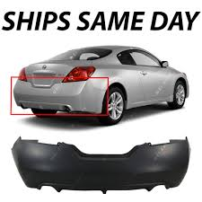 nissan altima coupe subwoofer box new primered rear bumper cover for 2008 2013 nissan altima coupe