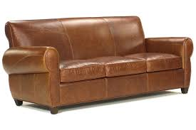 Rustic Leather Sofas Tribeca Rustic Leather Rolled Tight Back Cigar Sofa