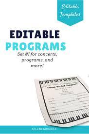 christmas concert program template 57 best music performance ideas images on pinterest music ed