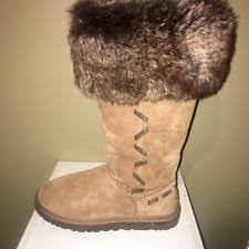 ugg s decatur boots black plaid discontinued uggs ebay
