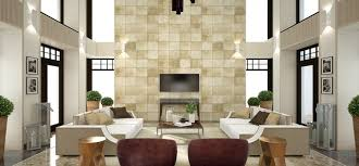 Interior Design High Ceiling Living Room Simple Yet Modern Interiors From 2 B Group