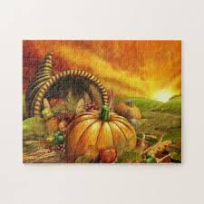 thanksgiving jigsaw puzzles zazzle
