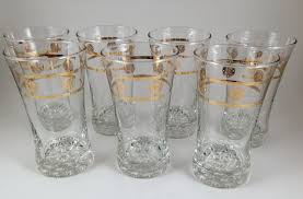 Libby Dining Hall by Libby Drinking Glasses Glassware With Gold Trim Ge General
