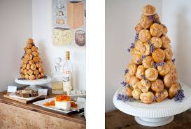 croquembouche the traditional french wedding dessert is a tower