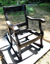 Vintage Rocking Chairs Redoing An Old Rocking Chair Part Two Young House Love