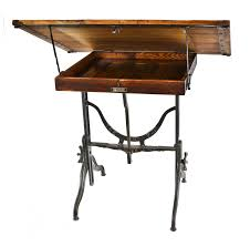 Antique Oak Drafting Table by Exceptional Early 20th Century Antique American Industrial