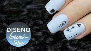 figuras geometricas uñas uñas con figuras geométricas diseño fácil manicura24 youtube