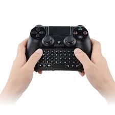 amazon com playstation 4 black amazon com upgraded version ps4 controller keyboard megadream