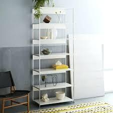 west elm white bookcase west elm bookshelf white lacquer bookshelf designing inspiration