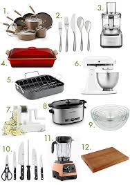kitchen wedding registry wedding registry must haves for your kitchen inspiralized