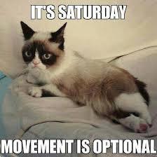 It S Saturday Meme - it s saturday movement is optional