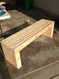 build a corner bench with built in table park bench style dining