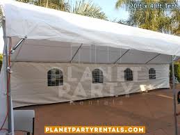 party rentals san fernando valley party tent 20ft x 40ft price and pictures