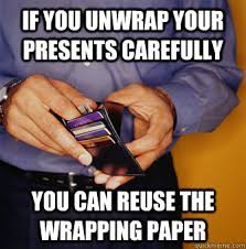 meme wrapping paper frugal memes quickmeme