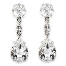 buckingham earrings swarovski silver jewelry set wedding day jewelry