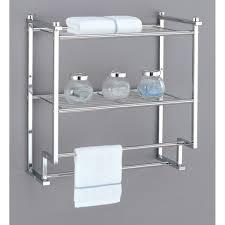 Bar Bathroom Ideas by Bathroom Shelf With Towel Bar Home Decorations