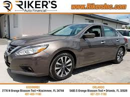 nissan altima for sale kissimmee fl rikers auto financial kissimmee 2776 north orange blossom trail