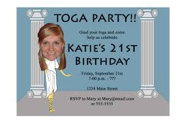toga party invitation funny unique digital printable great