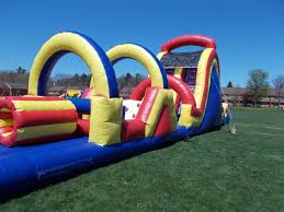 Halloween Inflatable Train Small Backyard Inflatable Slide R E A D Amusements East Haven Ct