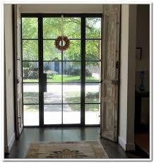 Steel Exterior Doors With Glass Splendid Glass Front Doors Metal Glass Doors Exterior Front Doors