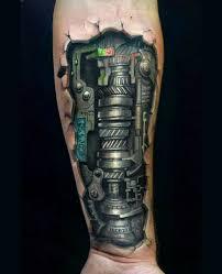 tattoo 3d mechanical biomechanical tattoos 20 totally amazing biomechanical designs