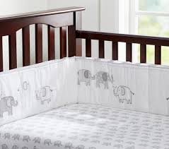 Crib Bedding Set With Bumper Baby Bedding Pottery Barn