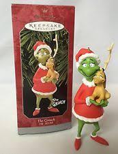hallmark grinch ornaments ebay