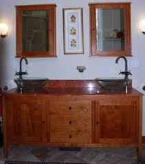 Furniture Style Vanity Shaker Bathroom Vanity Cherry Vanity