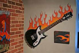bedroom elegant music themed bedroom decoration using fire guitar wonderful images of music themed bedroom design and decoration elegant music themed bedroom decoration using