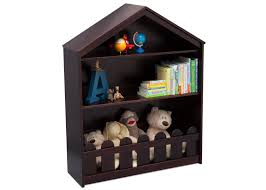 Dark Bookcase Happy Home Storage Bookcase Delta Children U0027s Products