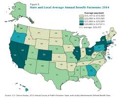 map usa bible belt map the average pension of retired state and local government