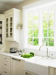 Kitchen Mesmerizing Cool Cottage Kitchen Sink With Window A Kitchen Window House Plans