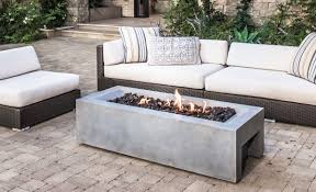 best fire pit table crammed rectangle propane fire pit table lavishly real flame antique