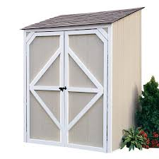 Lowes Backyard Ideas by Shop Backyard Organizer 5 Ft X 4 Ft Wood Storage Shed At Lowes Com