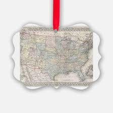usa license plate map ornament traditional ornaments 27