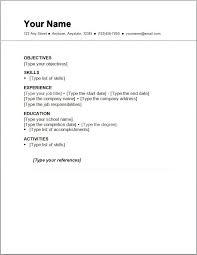 easy resume easy resume sles 17 best sle format blank for