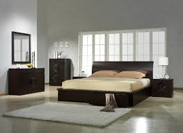 Bedroom Sets With Hidden Storage Contemporary Modern Wooden Bedroom Furniture With Chandelier Lamp