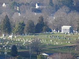 Lancaster Ohio Map by Rising Park Lancaster Ohio The View Of Forest Rose Cemetery