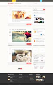 blog homepage design by niravjoshi on deviantart