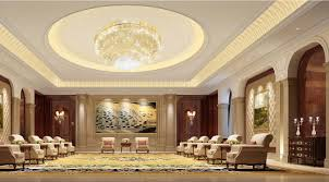 lighting and wall design of business reception hall jpg 1354 751