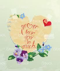 imagenes de i love you so much tarjeta de feliz día de la madre mamá i love you mucho arte