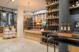Wine Cellar Liquor Store - wine retail design blog