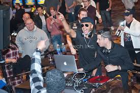 carl restivo tom morello dj set at hard rock hotel in las vegas nv mediapunch