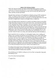 patriotexpressus inspiring featured letter to an unknown soldier